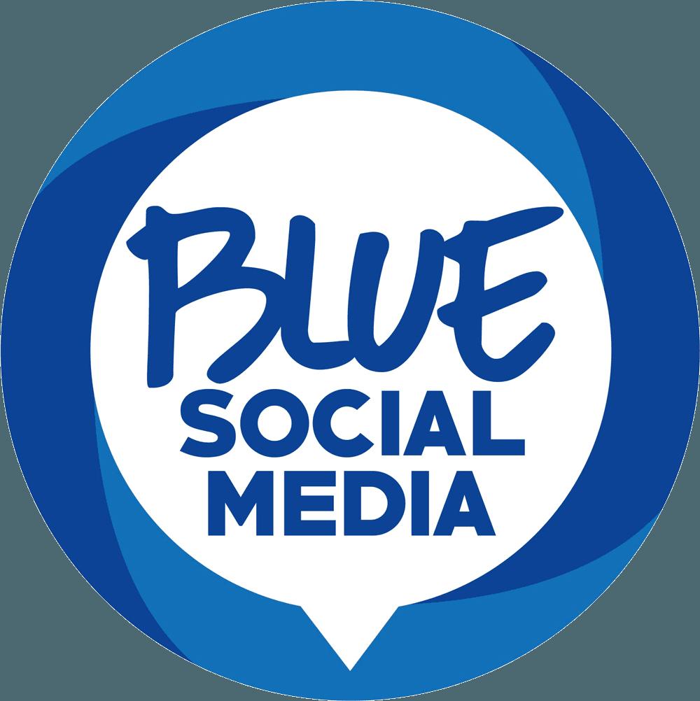 Blue Social Media