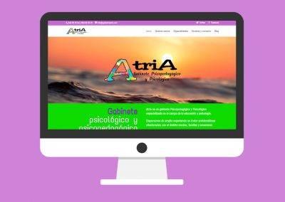 Página Web Gabinete Atria Santander
