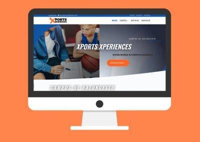 Página Web Xports Xperiences