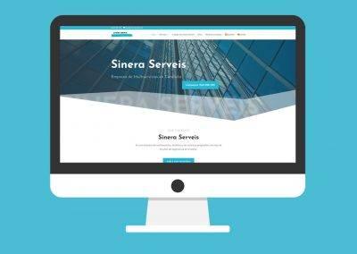 Página Web Sinera Serveis