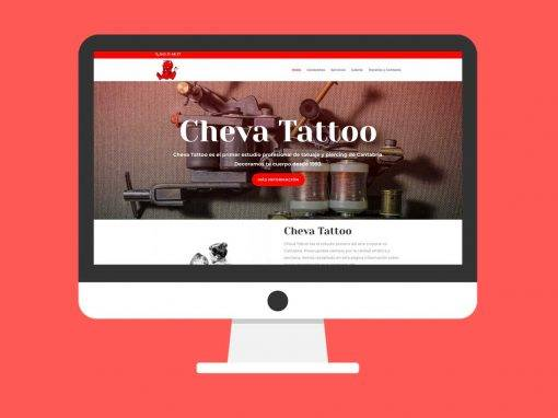 Página Web Cheva Tattoo