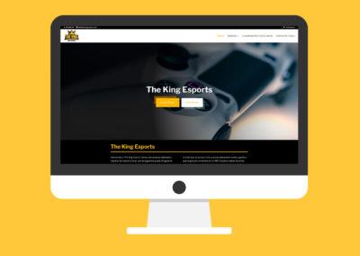 Página Web The King eSports