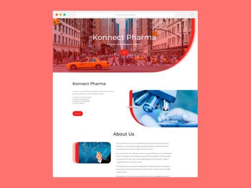 Página Web Konnect Pharma