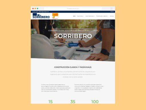 Página Web Sorribero Passivhaus