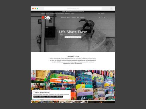 Tienda Online Life Skate Farm