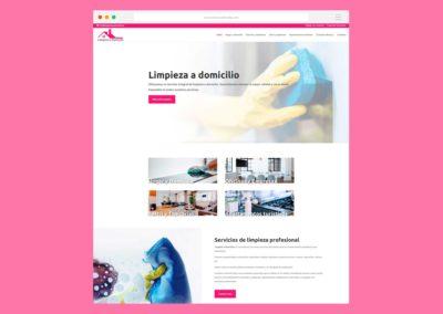 Página Web Limpieza a Domicilio