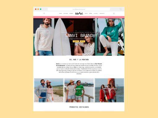 Tienda Online Sanvi Brand